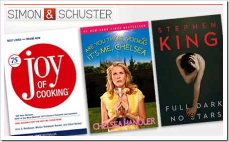 Groupon Simon and Schuster 112610 Deal