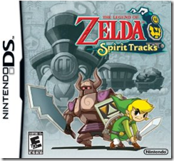 Zelda Spirit Tracks Nintendo DS Game
