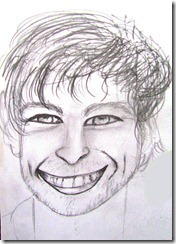 Chace Crawford Sketch