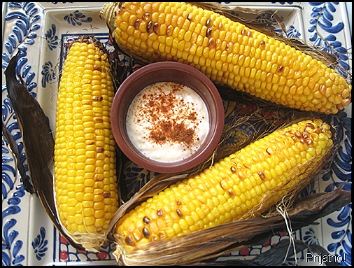 Mexican grilled corn1