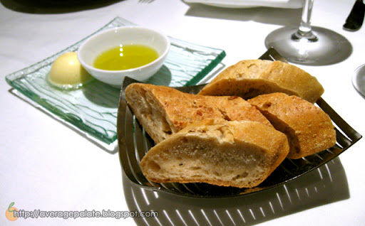 West Restaurant, Dine Out Vancouver 2010, bread with butter and olive oil