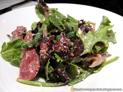 West Restaurant, Dine Out Vancouver 2010, salad