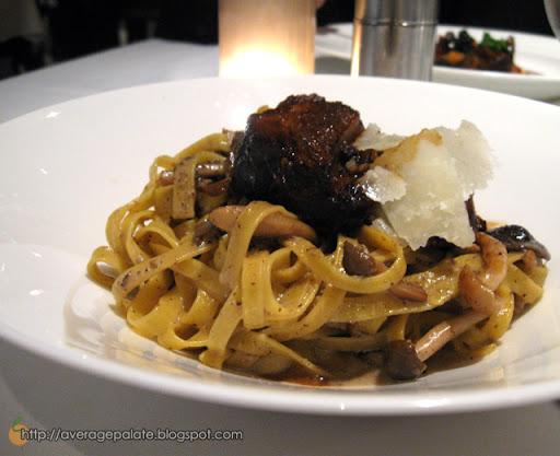 West Restaurant, Dine Out Vancouver 2010, tagliatelle