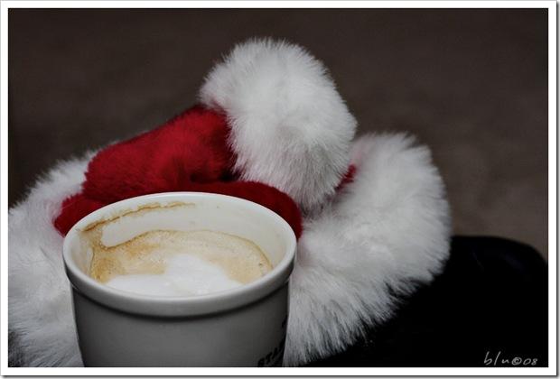 Santa Hat & Latte