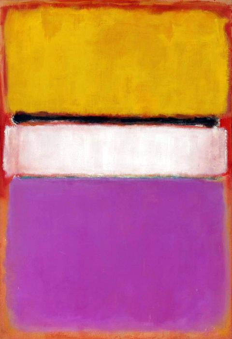 Марк Ротко. Белый центр (желтый, розовый и бледно-лиловый на темно-розовом)