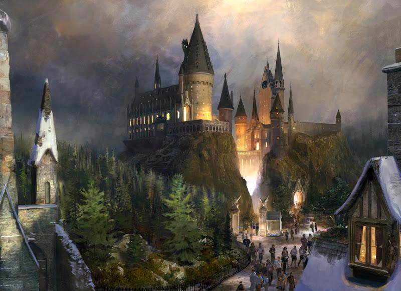 гарри поттер, парк развлечений, Harry Potter, Theme Park