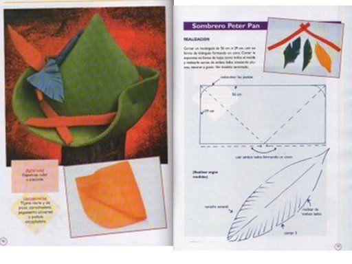 GORROS DE COTILLON CON MOLDES | Aprender manualidades es facilisimo.