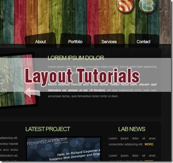 40 Best Photoshop Web Page Layout Tutorials
