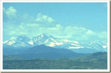 Long's Peak and Meeker