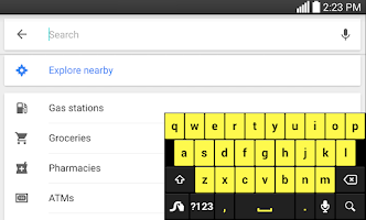 Screenshot of Swype Keyboard Free