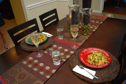Father's Day Dinner - stir fry