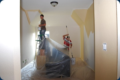 Redoing play room - during