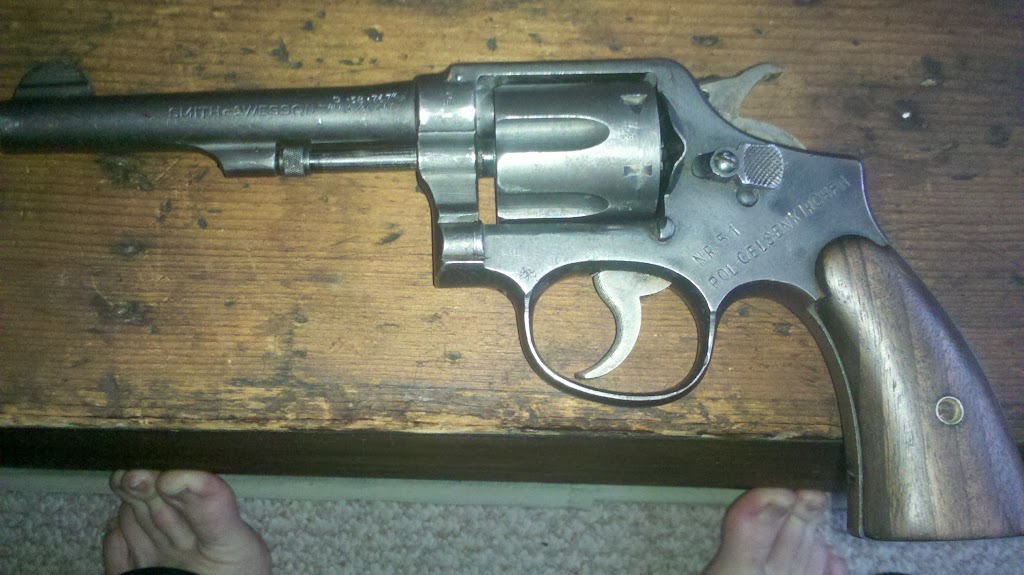 new acquisitions. - Revolver Handguns