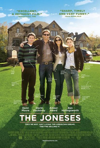 The Joneses, movie, poster