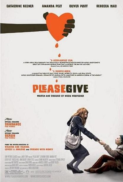 Please Give, 2010 movie, poster