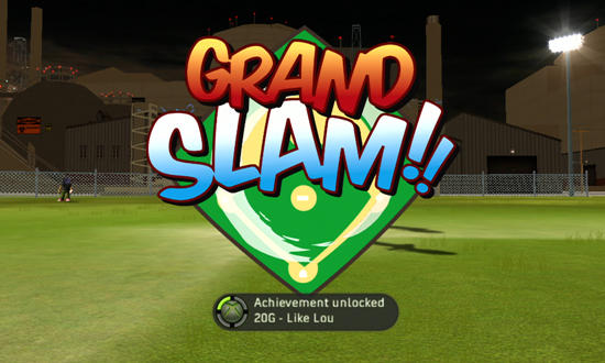 Backyard Sports, Sandlot Sluggers, xbox, game, screen, screenshot, image