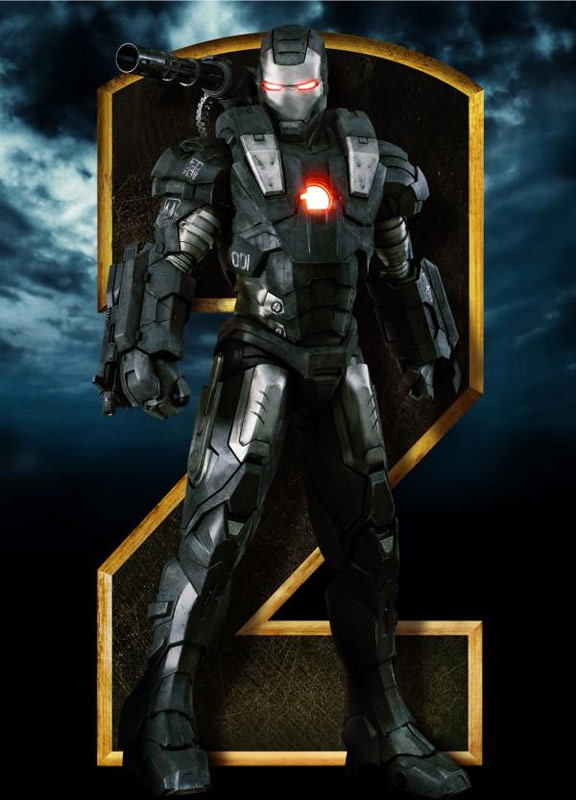 Iron Man 2, movie, poster cover, dvd