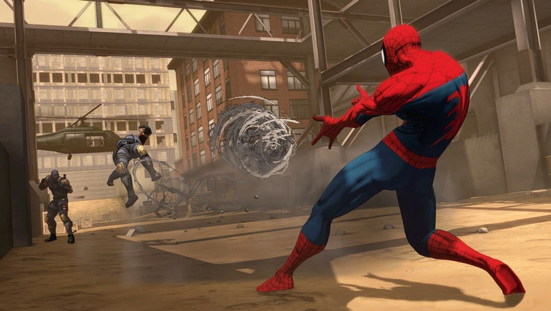 Spider Man, Shattered Dimensions, new, screen, screens, images, screenshots
