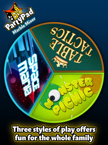 PartyPad, Marble Mixer, screen, image, ipad, game, screeshots