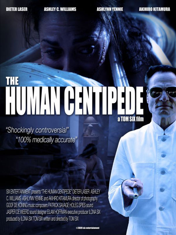 The Human Centipede, movie, poster