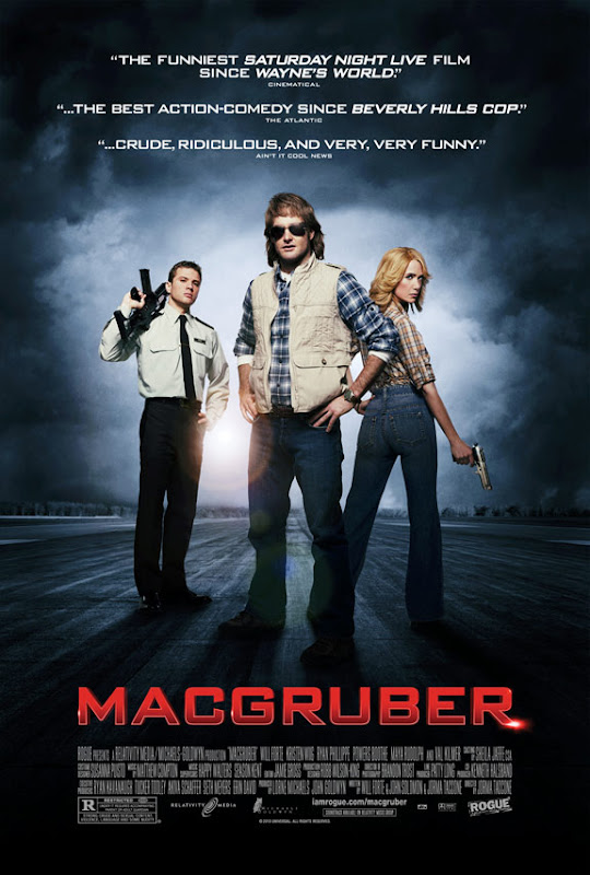 MacGruber, movie, poster