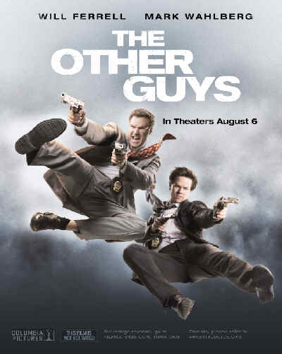 The Other Guys, movie, poster