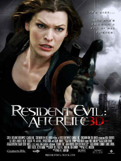 Resident Evil 4, Afterlife, movie, poster, Milla Jovovich, dvd, cover, image