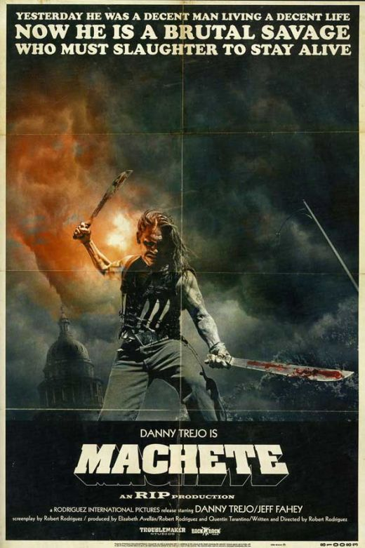 Machete, movie, poster