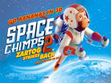 Space Chimps 2,Zartog Strikes Back, movie, poster, dvd, cover