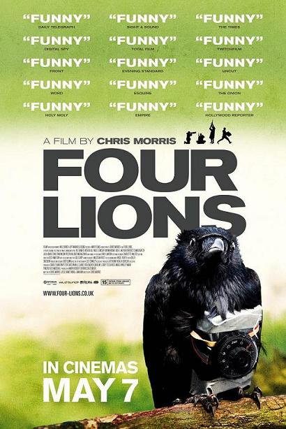 Four Lions, movie, poster
