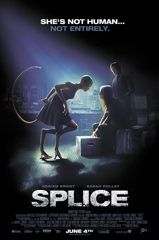 Splice, new, poster, english