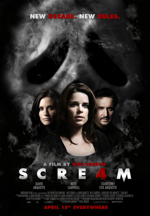 Scream 4, poster, new