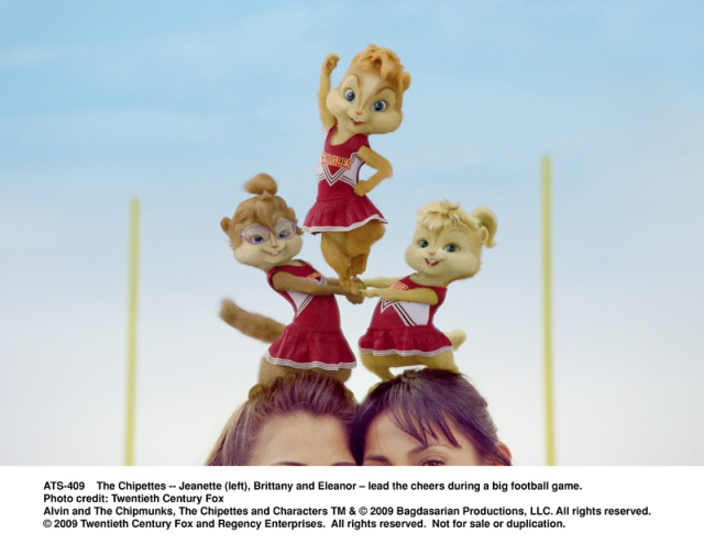the chipettes, jeanette, brittany, eleanor, alvin, chipmunks, The Squeakuel