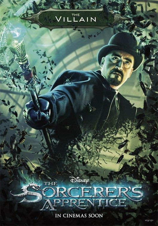 The Sorcerer's Apprentice, movie, poster, new