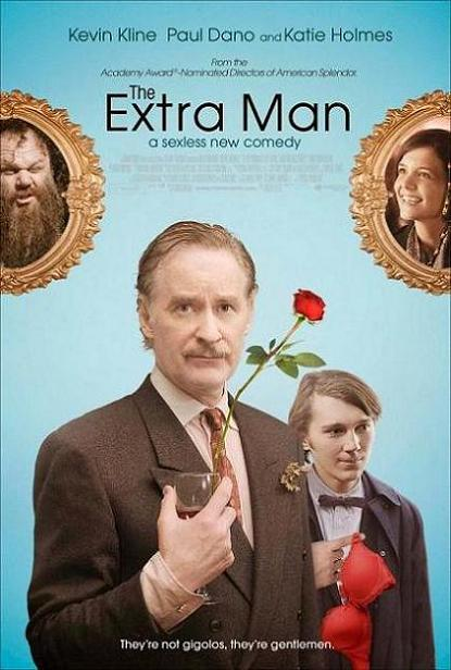 The Extra Man, movie, poster, new