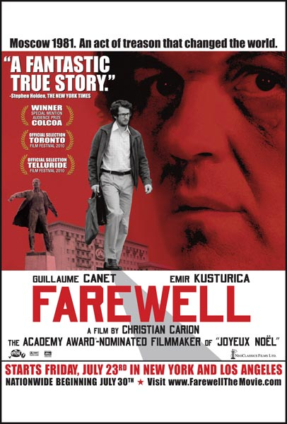 L'affaire Farewell, movie, poster
