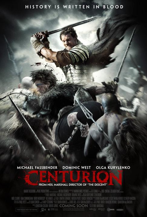 Centurion, movie, poster