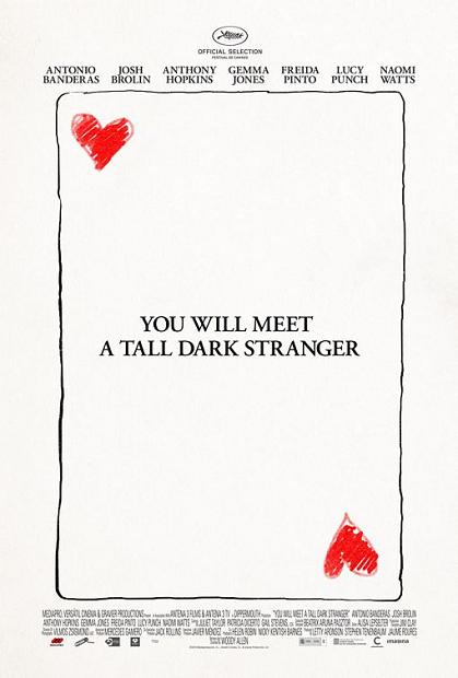 You will Meet a Tall Dark Stranger, movie, poster