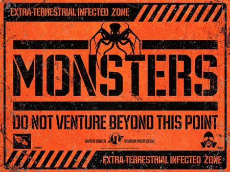 Monsters, 2010, movie, poster