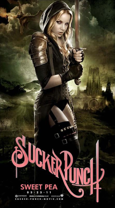 Sucker Punch, new, movie, poster