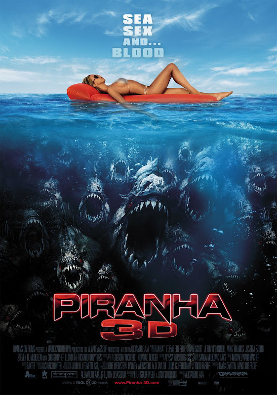Piranha 3D, New, Movie, Poster