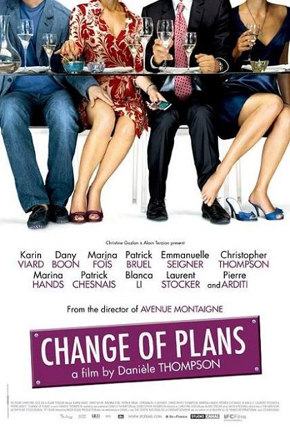 Change of Plans, movie, poster
