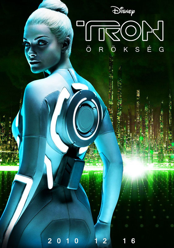 Tron Legacy, movie, poster, new