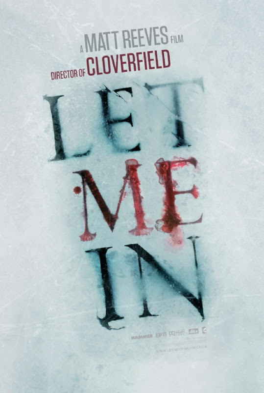 Let Me In, movie, poster, new