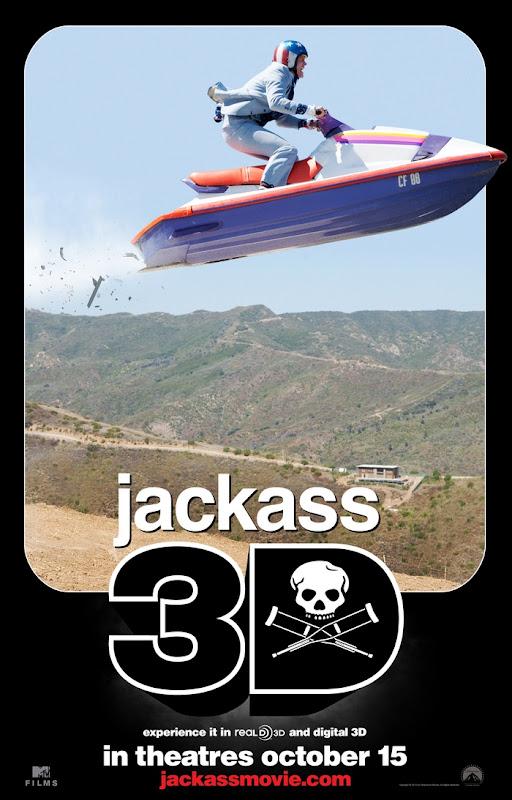 Jackass 3D, movie, poster