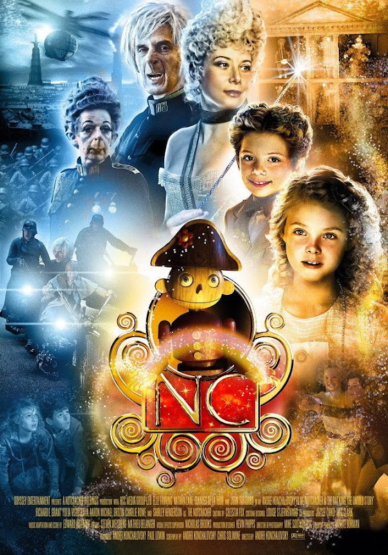 Nutcracker in 3D, movie, poster