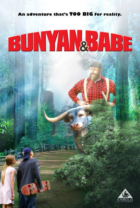 Bunyan and Babe, movie, poster