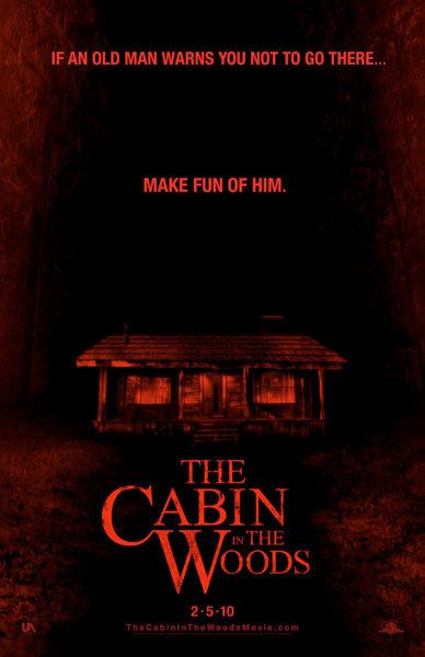 The Cabin in the Woods, movie, poster