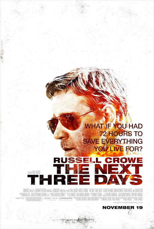 The Next Three Days, movie, poster