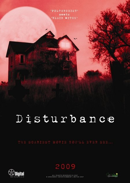 Disturbance, movie, poster